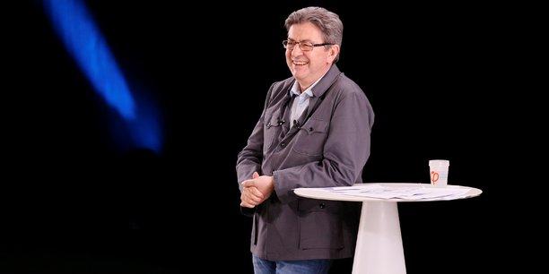 Jean-Luc Mélenchon, à Dijon, le 18 avril 2017.