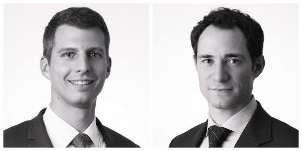 Xavier Colard et Jérôme Commerçon