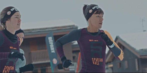 Image d'une des vidéos produites par FrenchWood pour la Winter Spartan Race de Reebok.
