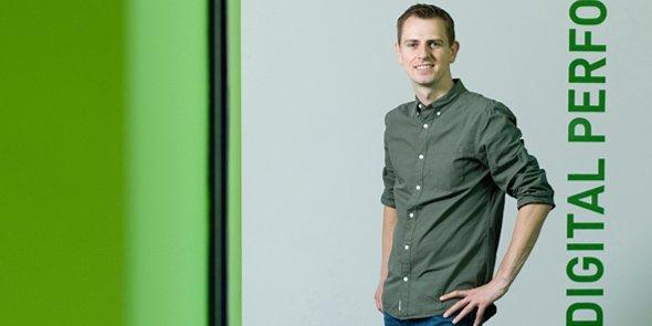Jonathan Vidor, fondateur et dirigeant de JVWeb à Montpellier.