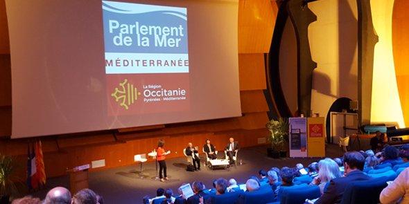 Lucien Chabason, Agnès Langevine et Serge Paillarès, le 20 avril à La Grande Motte.