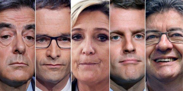 Sondage ipsos: macron toujours en tete devant le pen, melenchon et fillon a egalite[reuters.com]