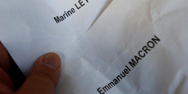Les Français établis à l'étranger ont placé la candidate FN en 5ème position, très loin derrière Emmanuel Macron.