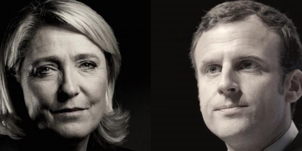 Le Pen et Macron ne retiennent plus leurs coups