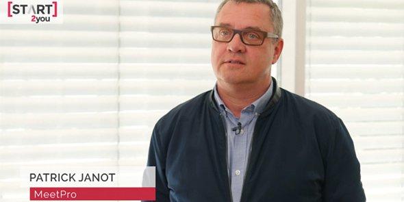 MeetPro, créée par Patrick Janot, s'attaque à l'enjeu de la transmission d'entreprise