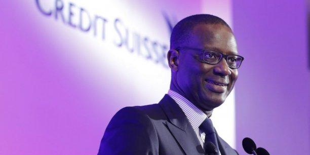 Tidjane Thiam, le directeur général de Credit Suisse, est très sceptique sur la cryptomonnaie qui bat record sur record.