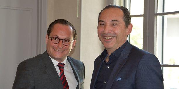 Tristan de La Rivière (à gauche) et Jean-Philippe Romero (à droite).