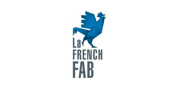 Le logo de la French Fab