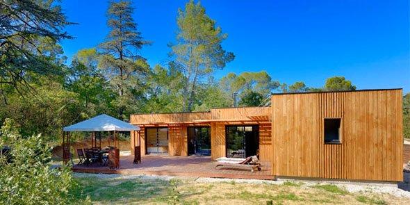Les maisonsà ossature bois Ginkgo séduisent l' u00cele de France # Maison Ossature Bois Ile De France