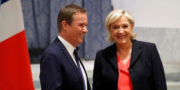 Si le rapprochement fait sourire les deux nouveaux alliés de l'extrême-droite, il fait grincer des dents dans la droite traditionnelle.