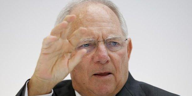 Si le gouvernement grec respecte tous les accords, les ministres des Finances européens pourraient finir l'évaluation le 22 mai et permettre le déblocage de la prochaine tranche d'aide (5,4 milliards d'euros, Ndlr), assure Wolfgang Schäuble.