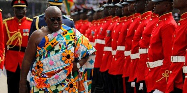Le Président Akufo-Addo du Ghana en visite officielle — Burkina-Faso