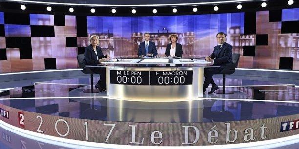 En Europe, Macron est souvent montré comme le gagnant de cette bataille.