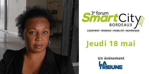 Tania Concko sera l'une des invités d'honneur du Forum Smart City Bordeaux le 18 mai