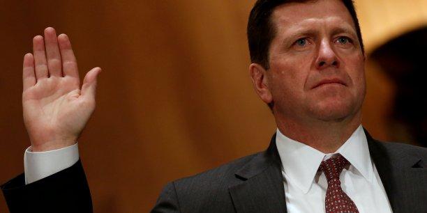 Jay Clayton a prêté serment cette semaine devant le Sénat américain avant de prendre ses fonctions à la tête de la SEC.