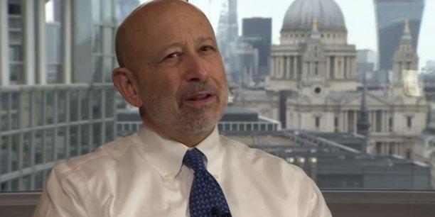 Si vous ne pouvez plus accéder au marché européen à partir du Royaume-Uni, le risque est que certains établissements procéderont à des ajustements et auront une moindre présence dans le pays, a déclaré Lloyd Blankfein, le patron de Goldman Sachs, dans une interview à la BBC.