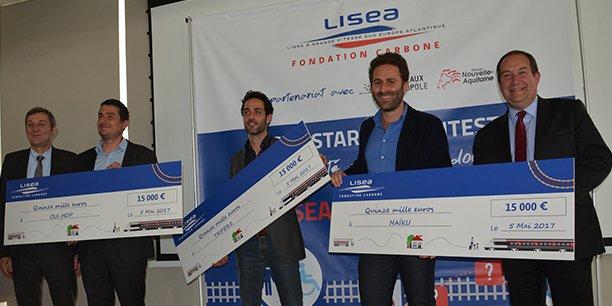 Les lauréats du Lisea Startup Contest recevront chacun une dotation de 15.000 €.