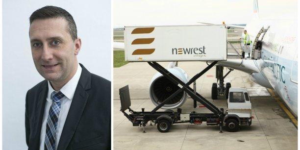 Fabrice Cuvillier, nouveau directeur général France de Newrest Inflight