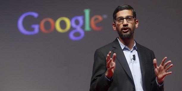 Sundar Pichai, le patron de la holding de Google Alphabet, est le mieux payé avec un salaire annuel de 100,6 millions de dollars.
