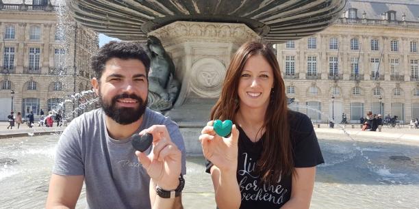 Yoann Ebrard et Nelly Meunier, deux des fondateurs de la startup Hopen Project.