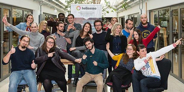 L'équipe d'HelloAsso est installée à l'écosystème Darwin à Bordeaux.