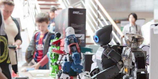 Le Robot Makers' Day a lieu vendredi 12 et samedi 13 mai.