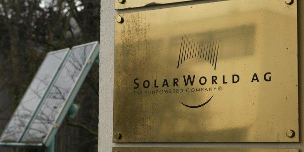 Auparavant premier fabricant européen de panneaux solaires, l'allemand SolarWorld se déclare en faillite.