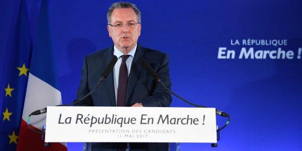 Jeudi 11 mai, Richard Ferrand, secrétaire général du mouvement la République en marche, a présenté les candidats aux législatives.