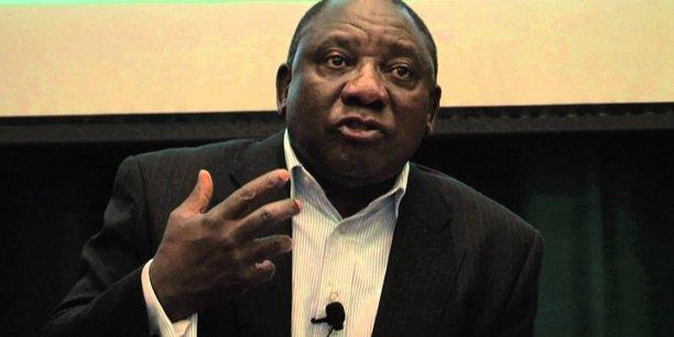 Membre de l'ANC au pouvoir, Cyril Ramaphosa est vice-président de l'Afrique du Sud depuis le 25 mai 2014.
