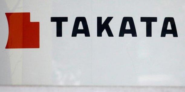 Takata: quatre constructeurs auto versent 553 millions de dollars a leurs clients[reuters.com]