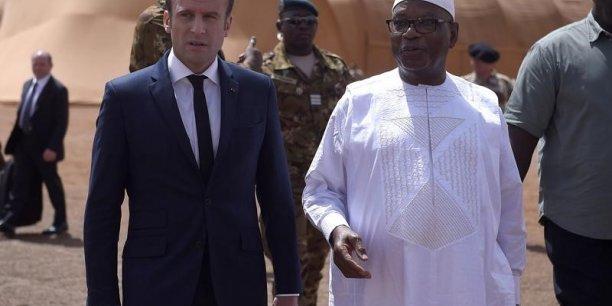 Macron confirme l'engagement militaire francais au sahel[reuters.com]