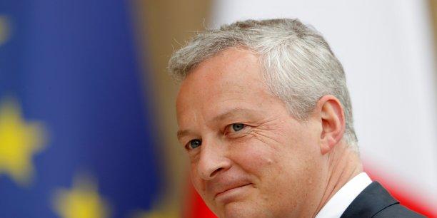 Bruno Le Maire participe ce lundi à sa première réunion des ministres des finances de la zone euro