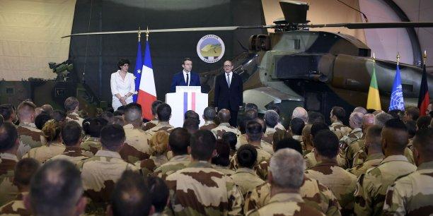 Macron ne risquera pas les vies des soldats francais pour rien[reuters.com]