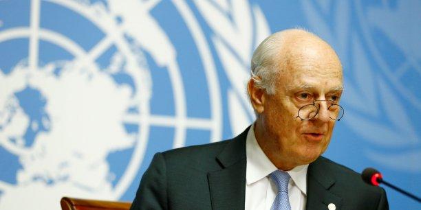 Petit progres des negociations de paix sur la syrie, dit l'onu[reuters.com]