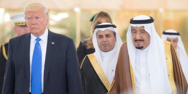 Cadeau de bienvenue de l'Arabie Saoudite à Donald Trump : 110 milliards de dollars d'achats d'armements