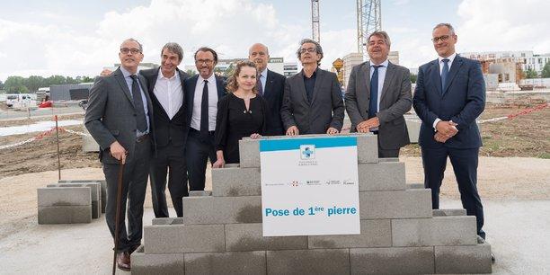 La cérémonie présidée par Alain Juppé a réuni près de 150 personnes.
