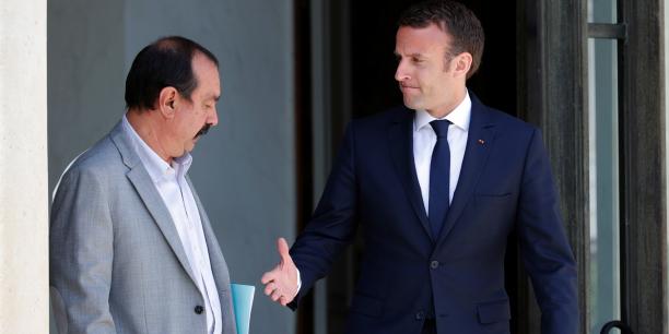 Macron doit tenir compte des syndicats — Réforme du travail