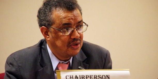 Tedros Adhanom Ghebreyesus, directeur général de l'OMS et ancien chef de la diplomatie éthiopienne.