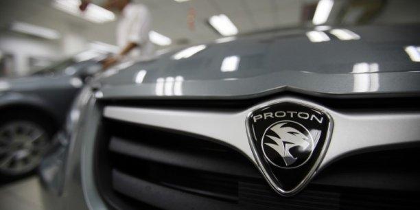Proton est également propriétaire de la marque Lotus.