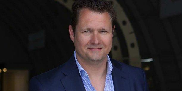 Dirk Ahlborn est le PDG de l'entreprise californienne Hyperloop Transportation Technologies.