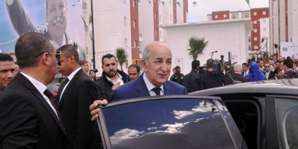 Abdelmadjid Tebboune a été nommé mercredi au poste de Premier ministre, en remplacement d'Abdelmalek Sellal.