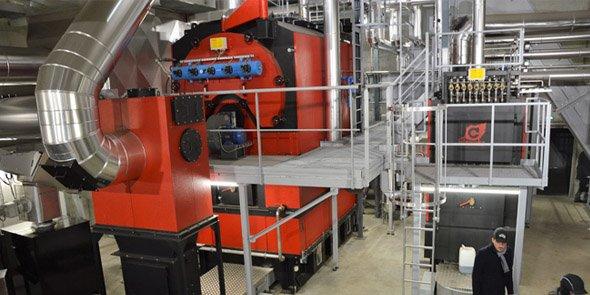 La chaudière biomasse au coeur du projet