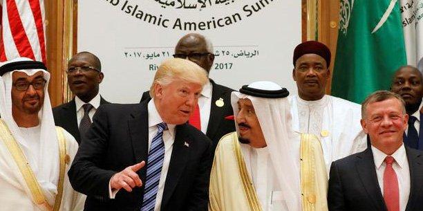 Lors du déplacement de Donald Trump à Ryad, le secrétaire d'Etat américain Rex Tillerson avait expliqué que ces contrats aideraient à renforcer la sécurité des partenaires de Washington dans la région.