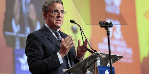 Alexandre de Juniac, ancien PDG d'Air France-KLM, aujourd'hui directeur général de l'Association internationale du transport aérien (IATA)