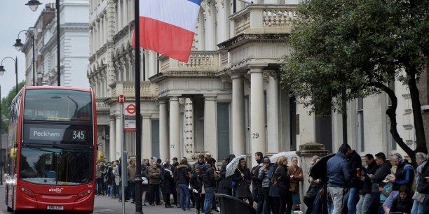Les expatriés français ont déjà voté, à Londres (ici, lors du second tour de la présidentielle, le 7 mai dernier).