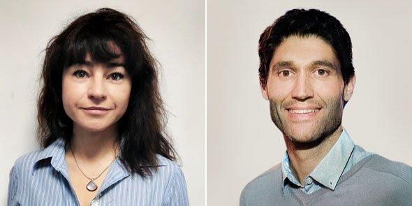 Céline Molina (Akio) et Sébastien Bernis (BSWeb)
