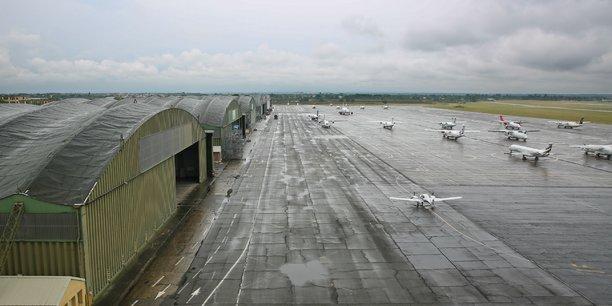 4000 mouvements d'avions ont été comptabilisés sur l'aéroport de Francazal en 2017.