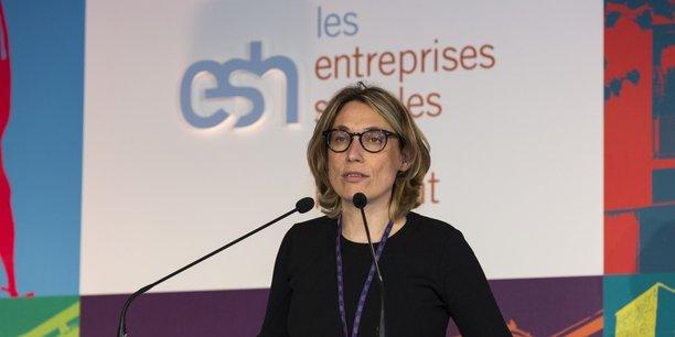 Valérie Fournier, présidente de la fédération des ESH.