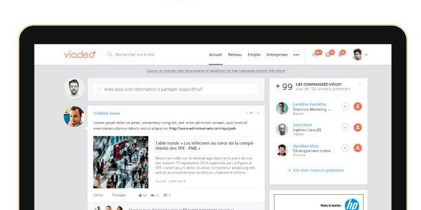 Le réseau social professionnel Viadeo réalise un pivot stratégique profond pour espérer survivre face à LinkedIn et, demain, face à Facebook et Google, qui s'intéressent à ce marché.