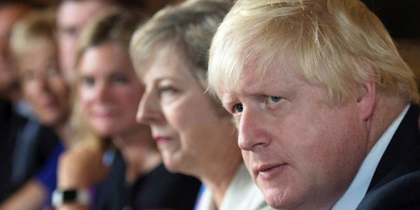 Boris Johnson, ministre des Affaires étrangères.